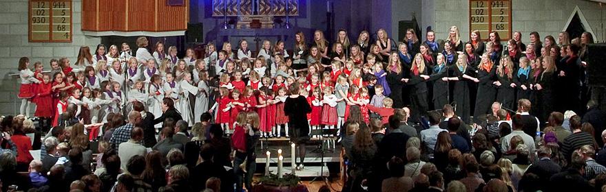 Vi synger julen inn 2010, foto: Rolf Schjesvold